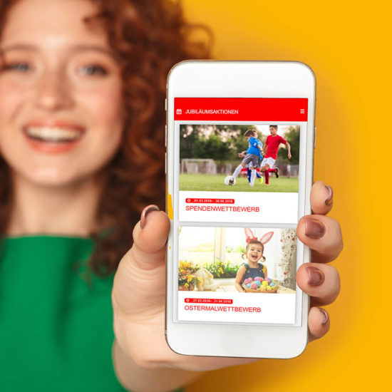Jubiläums-App