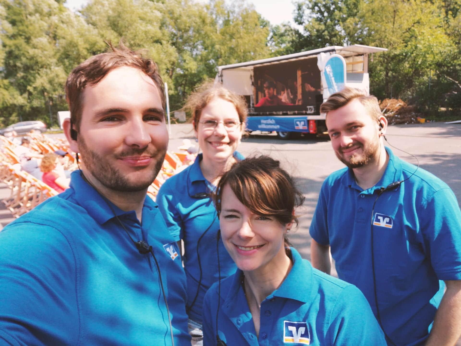 Deine Karriere: Ostfriesische Volksbank – Sommerkino-Event