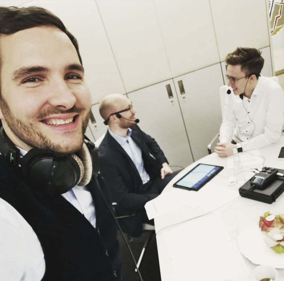 Beratungscenter bewerben: Making of des Podcast der Volksbank in Südwestfalen eG