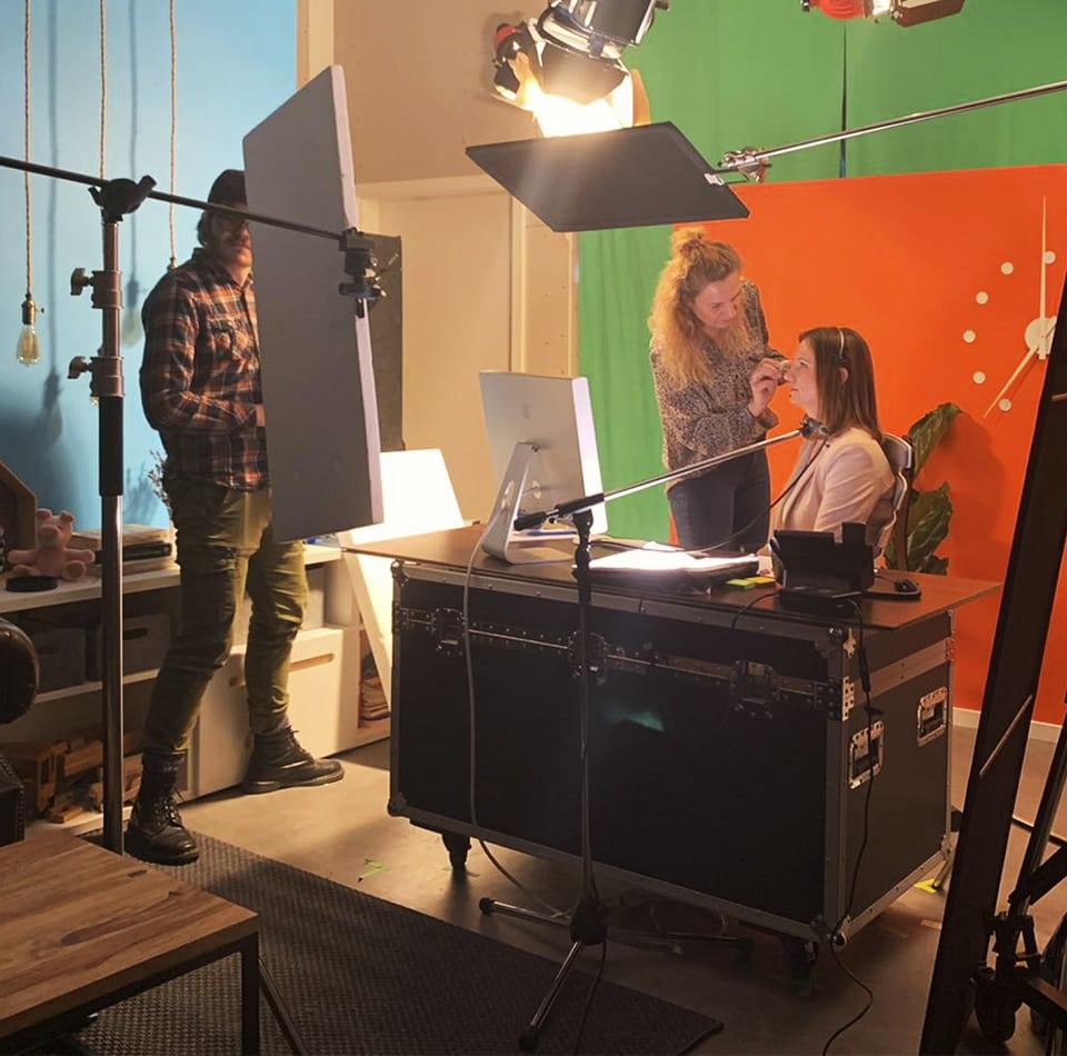 Making of des Erklärfilms der Volksbank in Südwestfalen eG