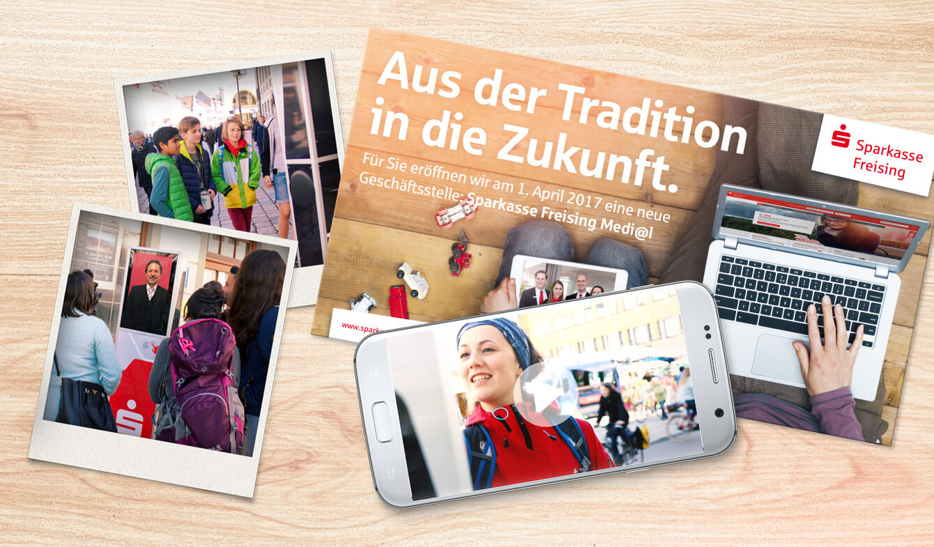 Guerilla Promotion Mediale Geschäftsstelle Ffe Media Werbeagentur
